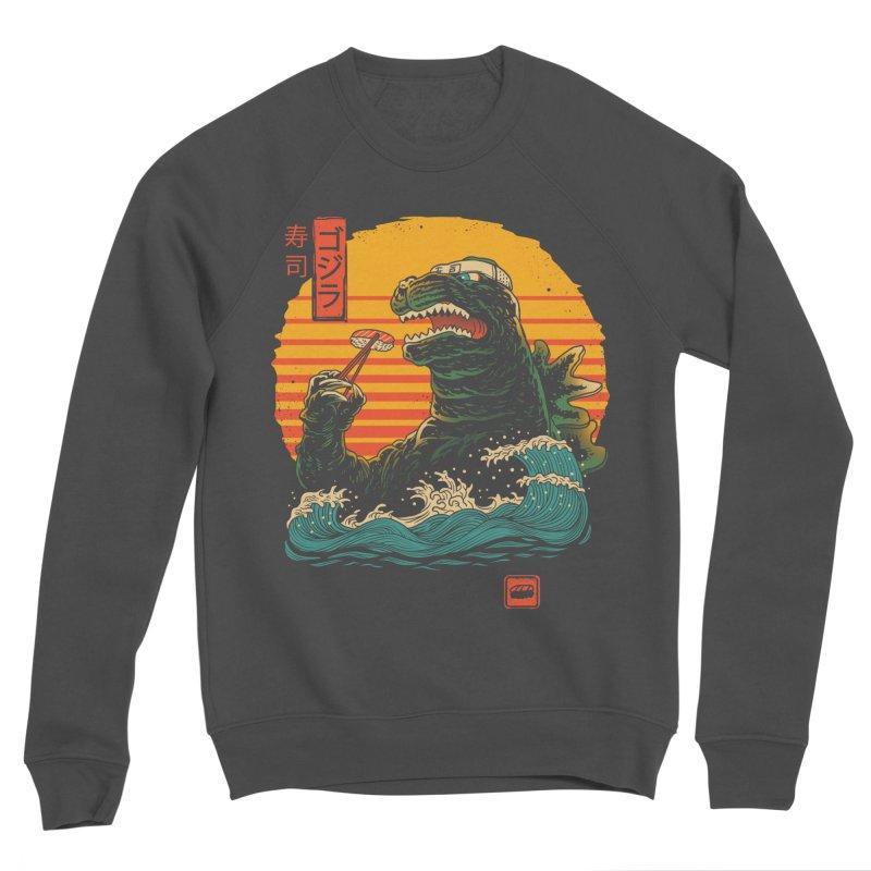 King of Sushi Men's Sponge Fleece Sweatshirt by vincenttrinidad's Artist Shop