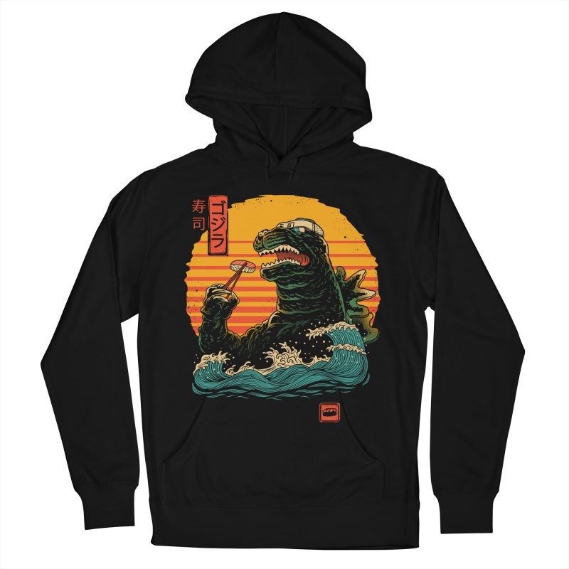 King of Sushi Women's French Terry Pullover Hoody by vincenttrinidad's Artist Shop