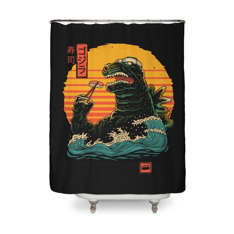 King of Sushi Home Shower Curtain by vincenttrinidad's Artist Shop