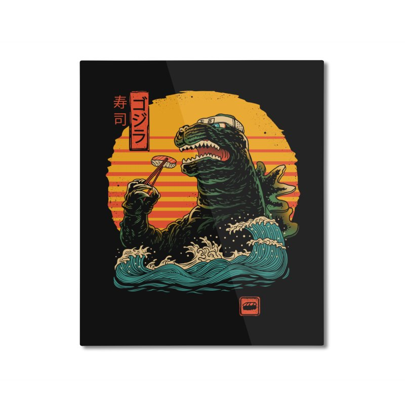 King of Sushi Home Mounted Aluminum Print by vincenttrinidad's Artist Shop