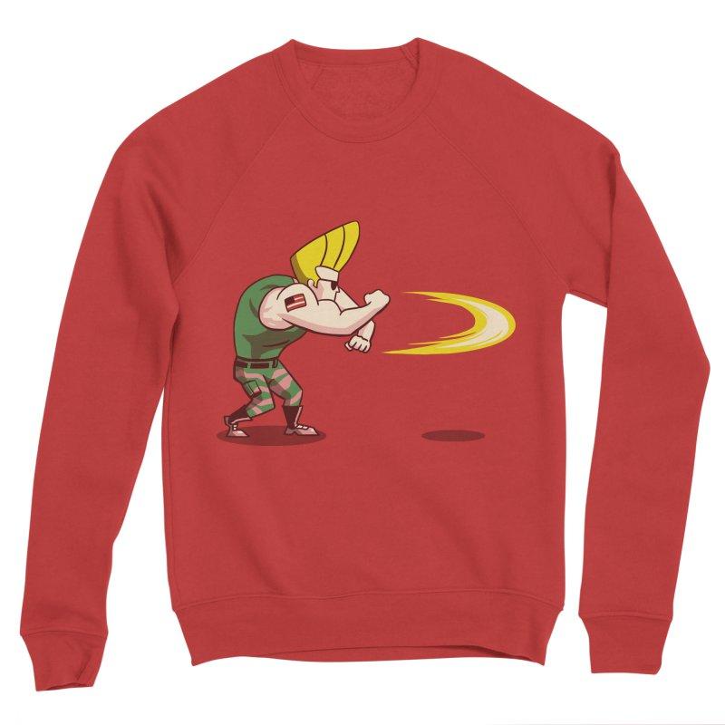 Sonic Bravo! Men's Sponge Fleece Sweatshirt by vincenttrinidad's Artist Shop