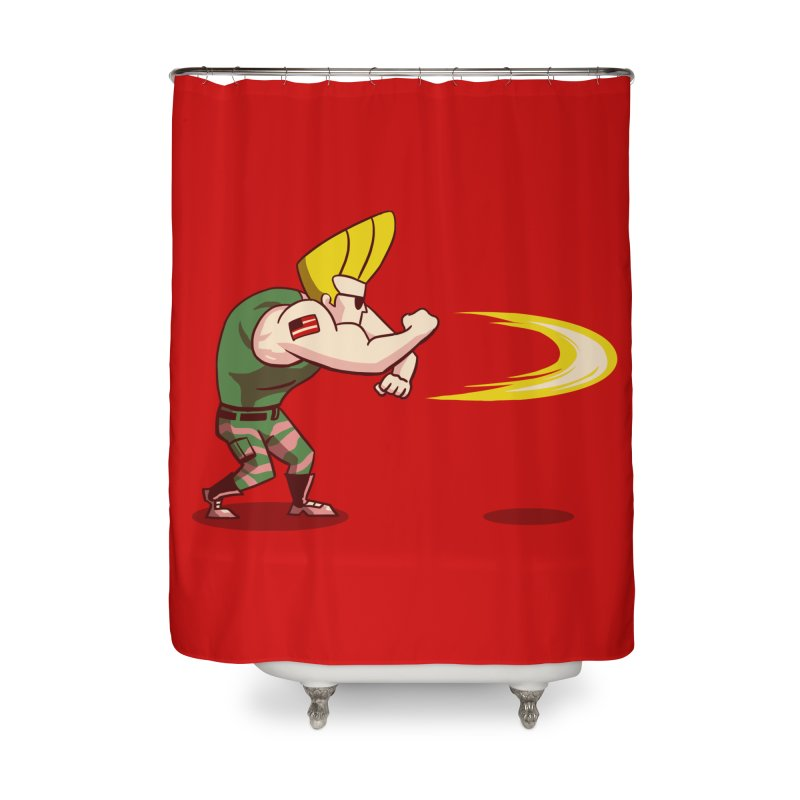 Sonic Bravo! Home Shower Curtain by vincenttrinidad's Artist Shop