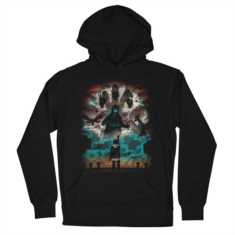 Strange Titans Women's French Terry Pullover Hoody by vincenttrinidad's Artist Shop