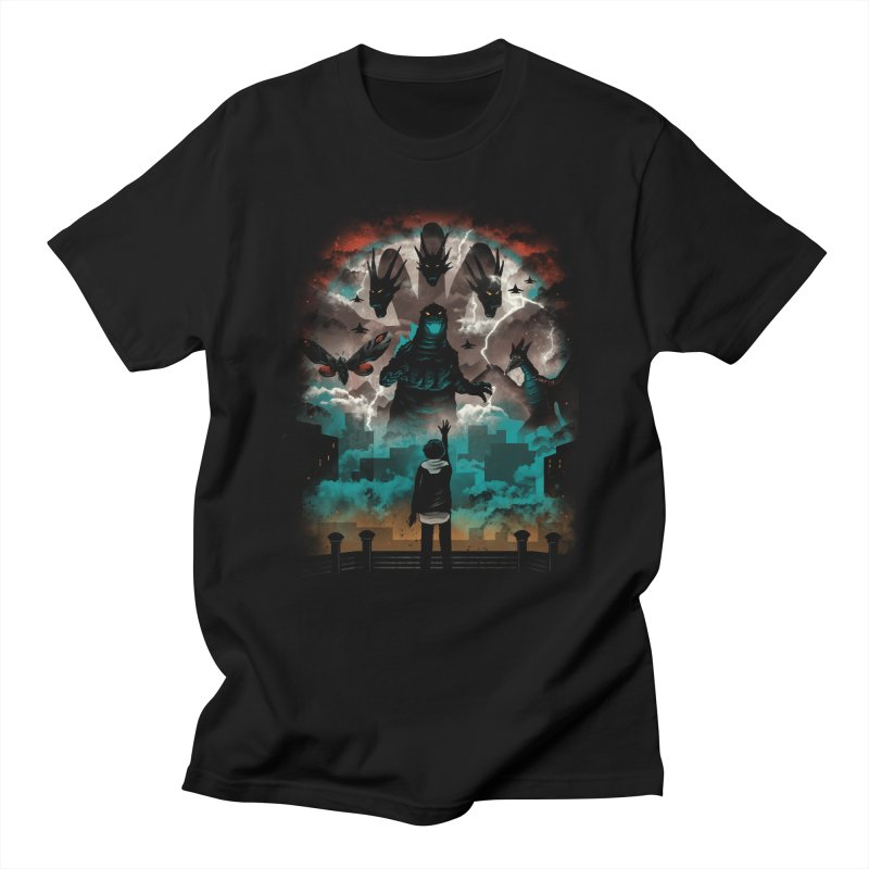 Strange Titans Women's Regular Unisex T-Shirt by vincenttrinidad's Artist Shop