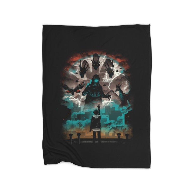 Strange Titans Home Blanket by vincenttrinidad's Artist Shop