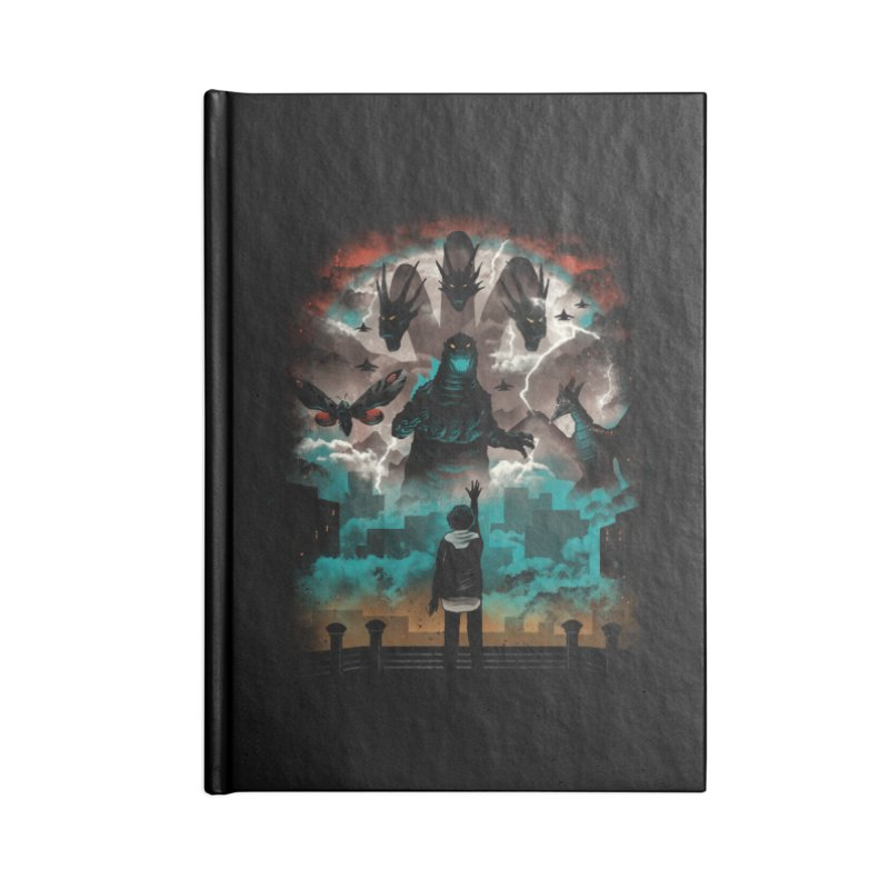 Strange Titans Accessories Notebook by vincenttrinidad's Artist Shop