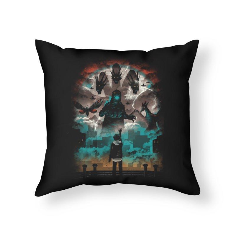 Strange Titans Home Throw Pillow by vincenttrinidad's Artist Shop