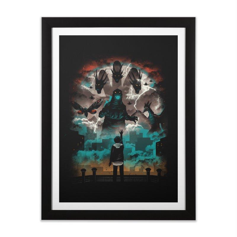 Strange Titans Home Framed Fine Art Print by vincenttrinidad's Artist Shop