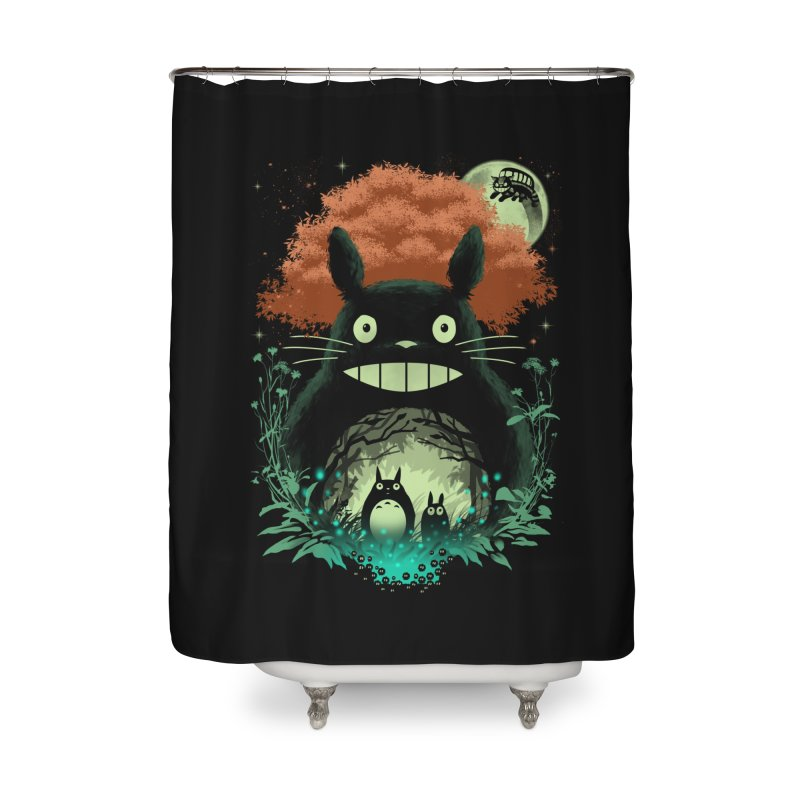 The Neighbors Home Shower Curtain by vincenttrinidad's Artist Shop