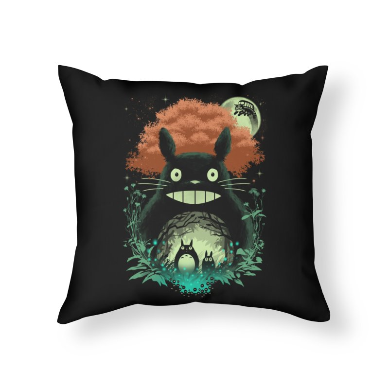 The Neighbors Home Throw Pillow by vincenttrinidad's Artist Shop