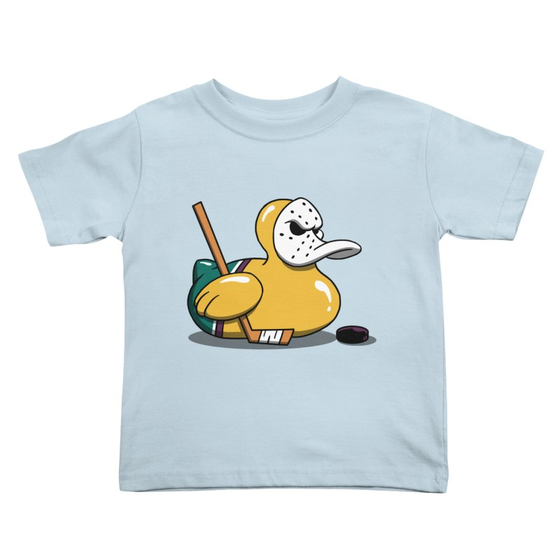 Mighty Rubber Ducky Kids Toddler T-Shirt by vincenttrinidad's Artist Shop