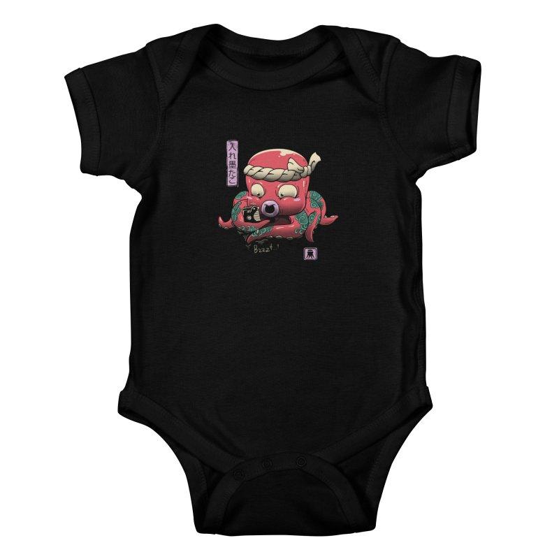 Inkedtopus Kids Baby Bodysuit by vincenttrinidad's Artist Shop