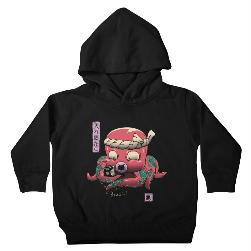 Inkedtopus Kids Toddler Pullover Hoody by vincenttrinidad's Artist Shop