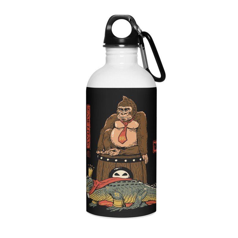 The Crocodile and the Gorilla Accessories Water Bottle by vincenttrinidad's Artist Shop