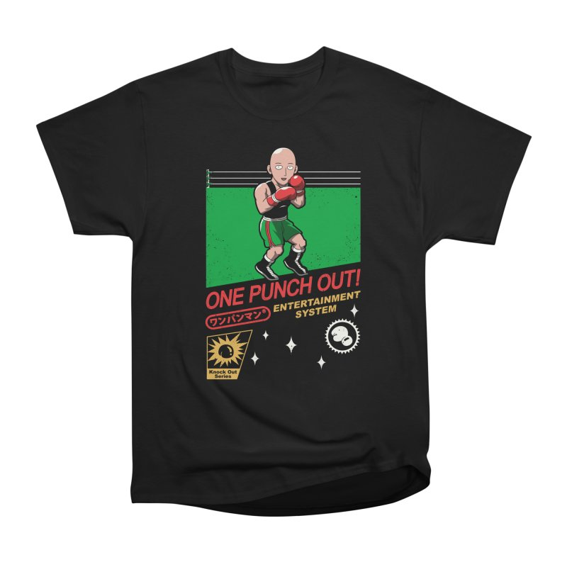 One Punch Out! Men's Heavyweight T-Shirt by vincenttrinidad's Artist Shop