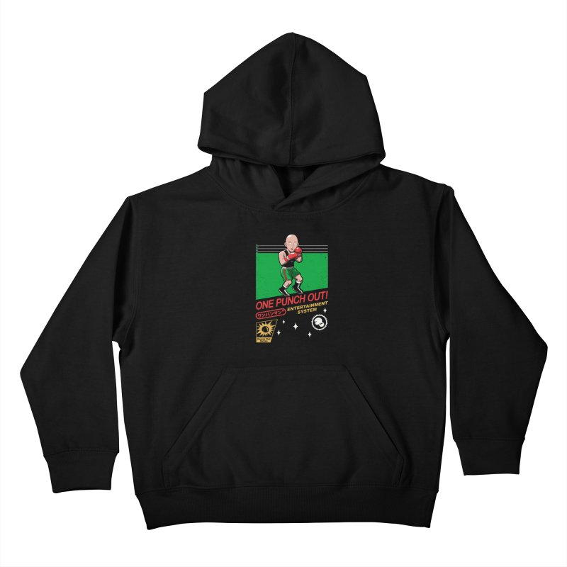 One Punch Out! Kids Pullover Hoody by vincenttrinidad's Artist Shop