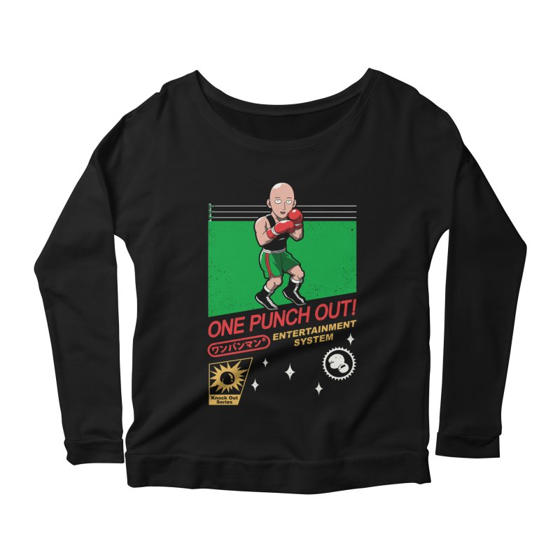 One Punch Out! Women's Scoop Neck Longsleeve T-Shirt by vincenttrinidad's Artist Shop