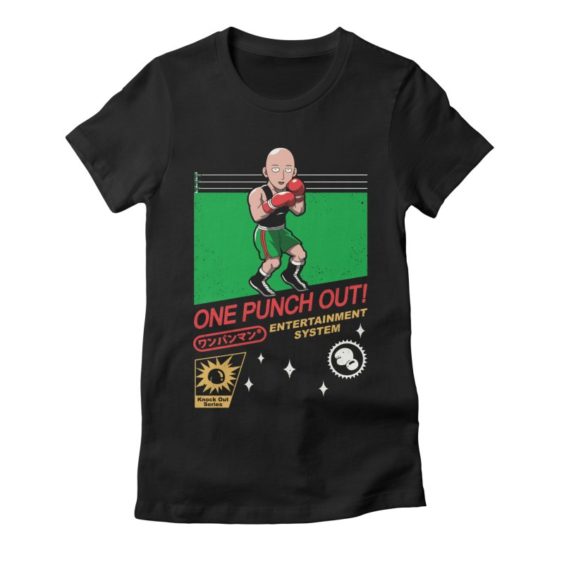 One Punch Out! Women's Fitted T-Shirt by vincenttrinidad's Artist Shop