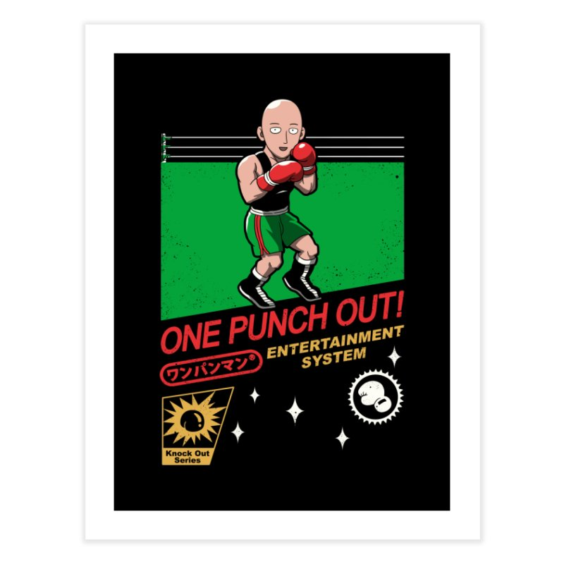 One Punch Out! Home Fine Art Print by vincenttrinidad's Artist Shop