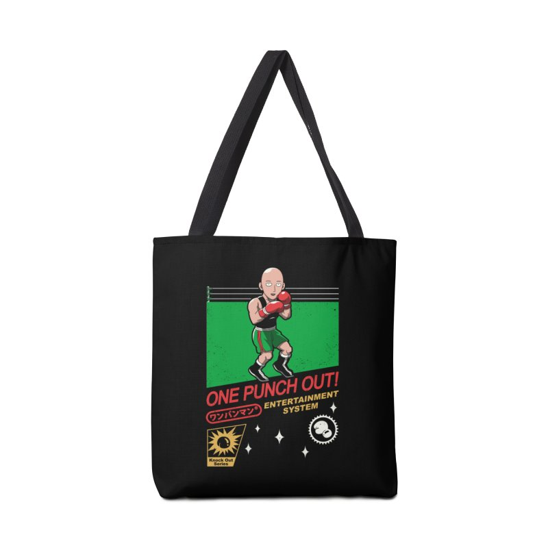One Punch Out! Accessories Bag by vincenttrinidad's Artist Shop