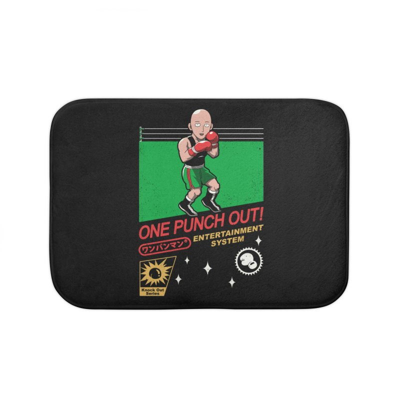 One Punch Out! Home Bath Mat by vincenttrinidad's Artist Shop