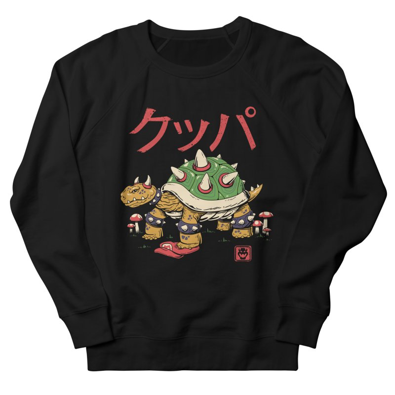 Turtle Demon King Women's French Terry Sweatshirt by vincenttrinidad's Artist Shop