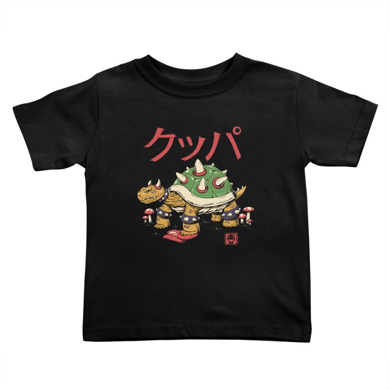 Turtle Demon King Kids Toddler T-Shirt by vincenttrinidad's Artist Shop
