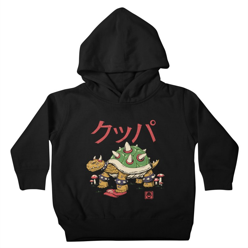 Turtle Demon King Kids Toddler Pullover Hoody by vincenttrinidad's Artist Shop