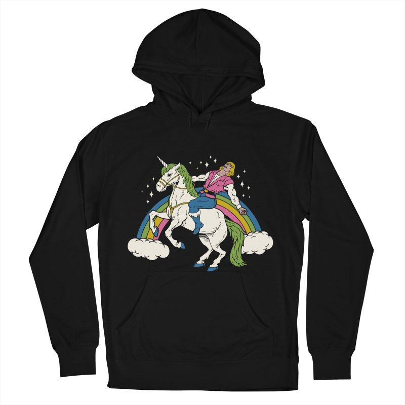She-Man Men's French Terry Pullover Hoody by vincenttrinidad's Artist Shop