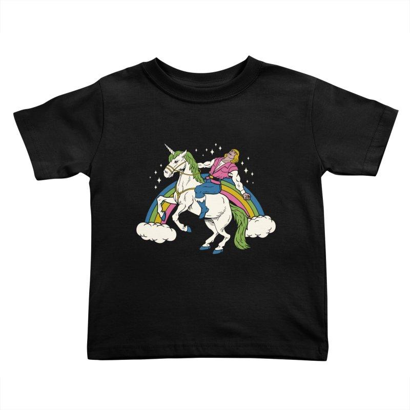 She-Man Kids Toddler T-Shirt by vincenttrinidad's Artist Shop