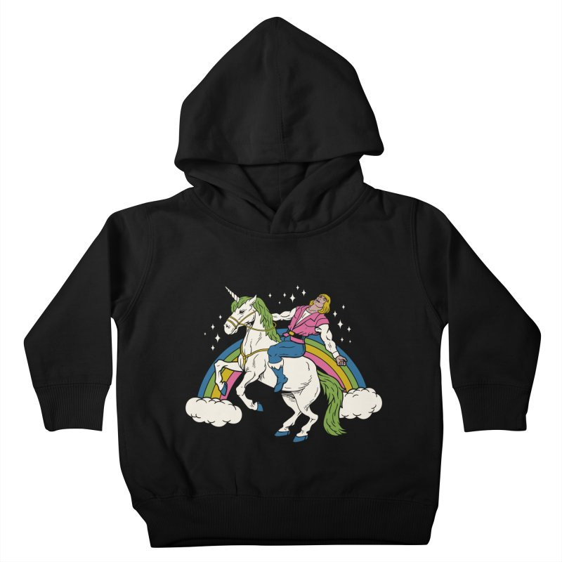 She-Man Kids Toddler Pullover Hoody by vincenttrinidad's Artist Shop