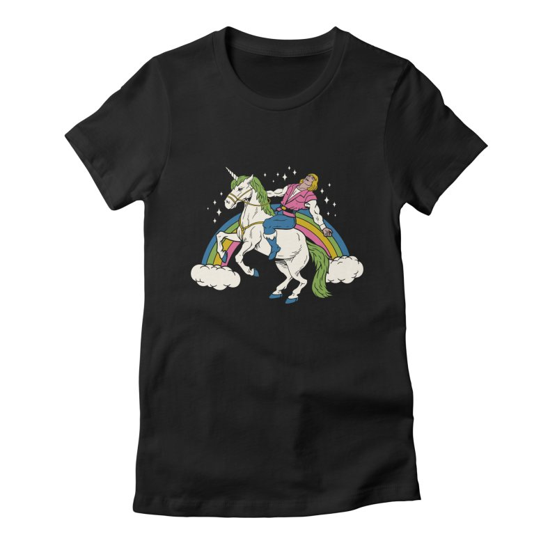 She-Man Women's Fitted T-Shirt by vincenttrinidad's Artist Shop