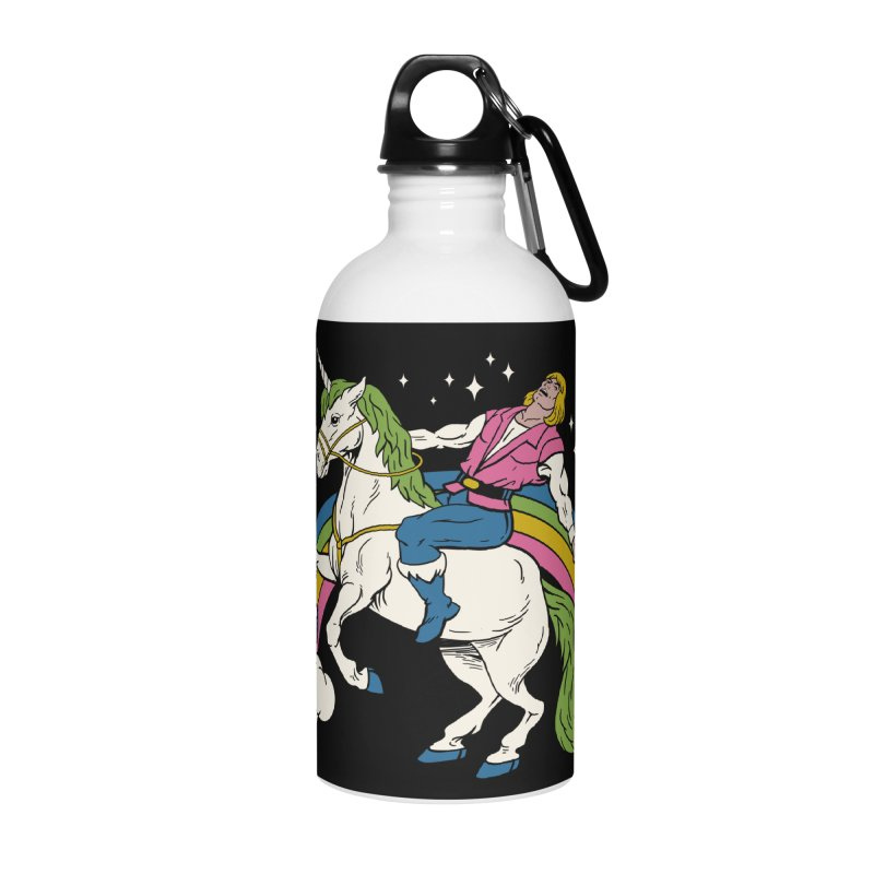 She-Man Accessories Water Bottle by vincenttrinidad's Artist Shop