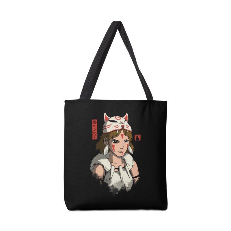 Wolf Girl Accessories Bag by vincenttrinidad's Artist Shop
