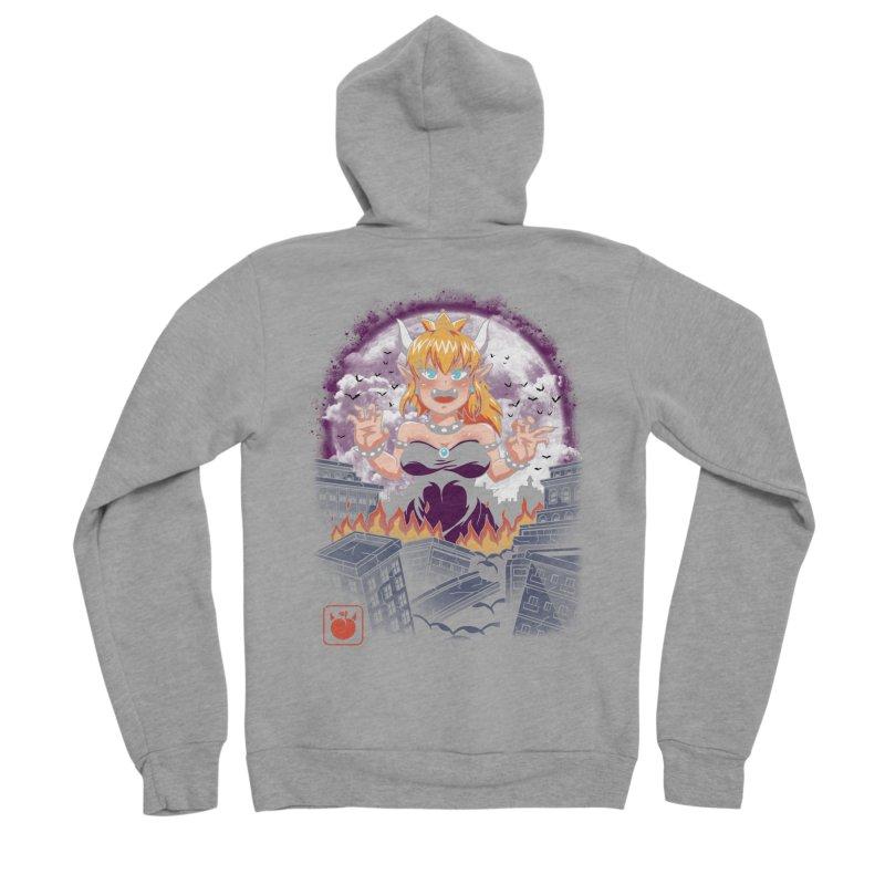 Princess Kaiju Men's Sponge Fleece Zip-Up Hoody by vincenttrinidad's Artist Shop