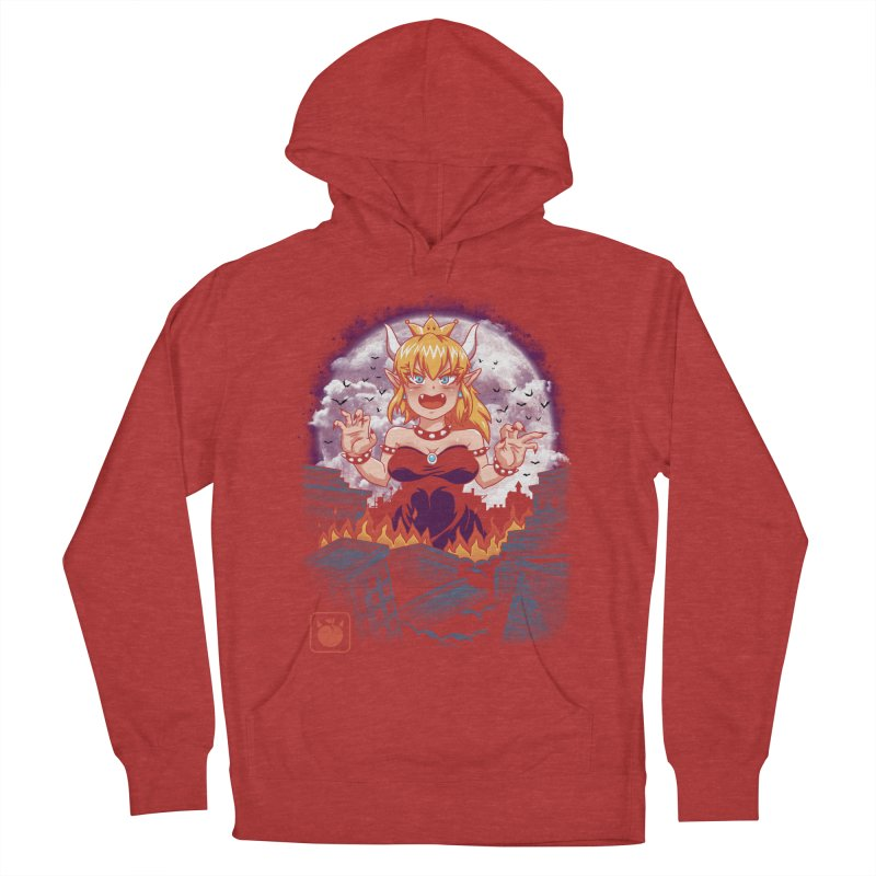 Princess Kaiju Women's French Terry Pullover Hoody by vincenttrinidad's Artist Shop