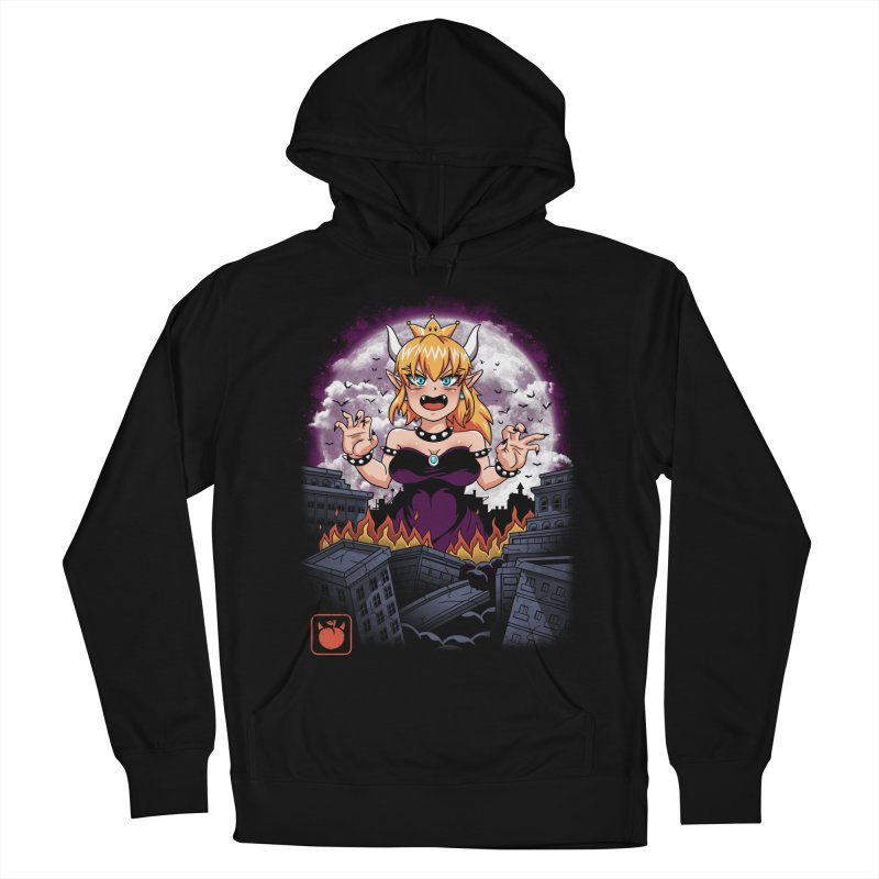 Princess Kaiju Men's French Terry Pullover Hoody by vincenttrinidad's Artist Shop