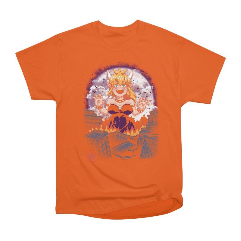 Princess Kaiju Men's Heavyweight T-Shirt by vincenttrinidad's Artist Shop