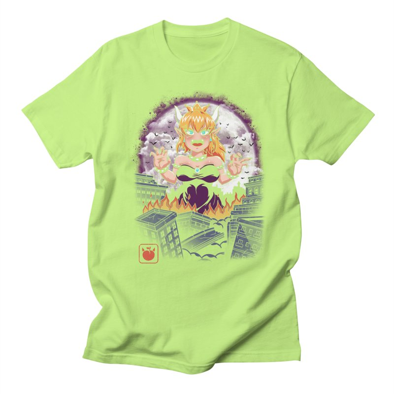 Princess Kaiju Men's Regular T-Shirt by vincenttrinidad's Artist Shop