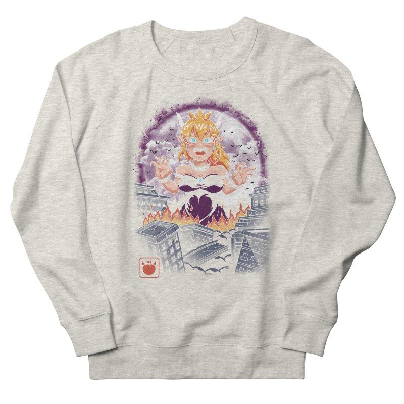 Princess Kaiju Women's French Terry Sweatshirt by vincenttrinidad's Artist Shop