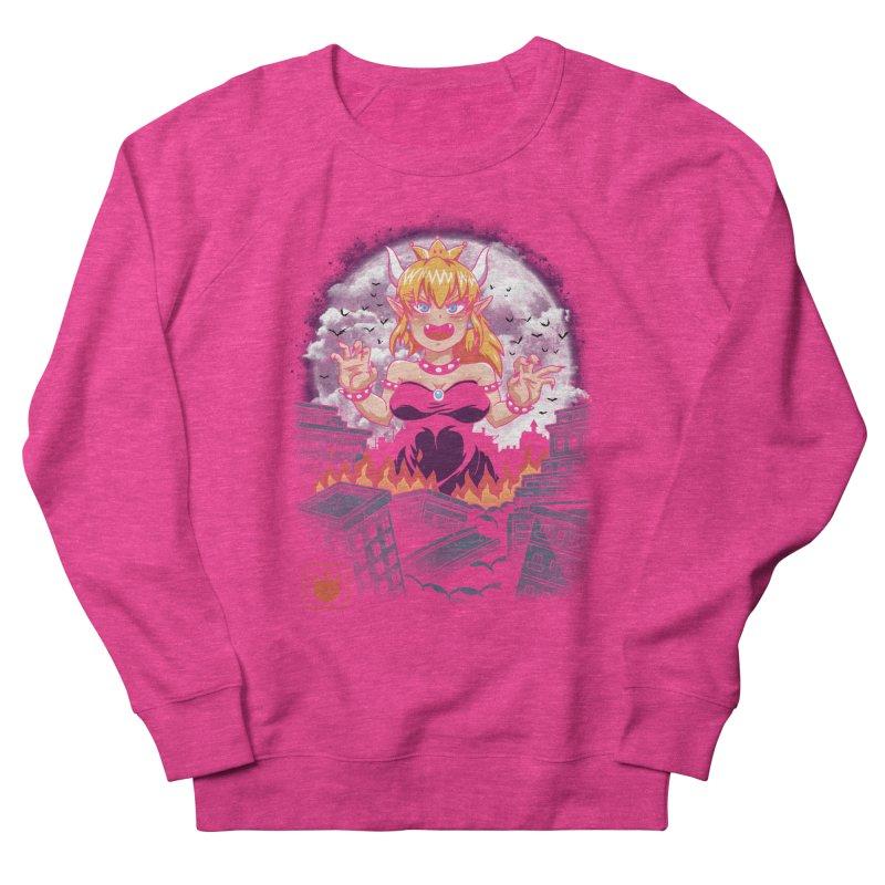 Princess Kaiju Men's French Terry Sweatshirt by vincenttrinidad's Artist Shop