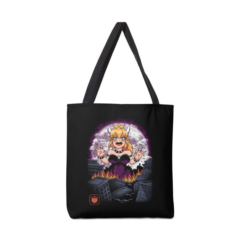 Princess Kaiju Accessories Bag by vincenttrinidad's Artist Shop