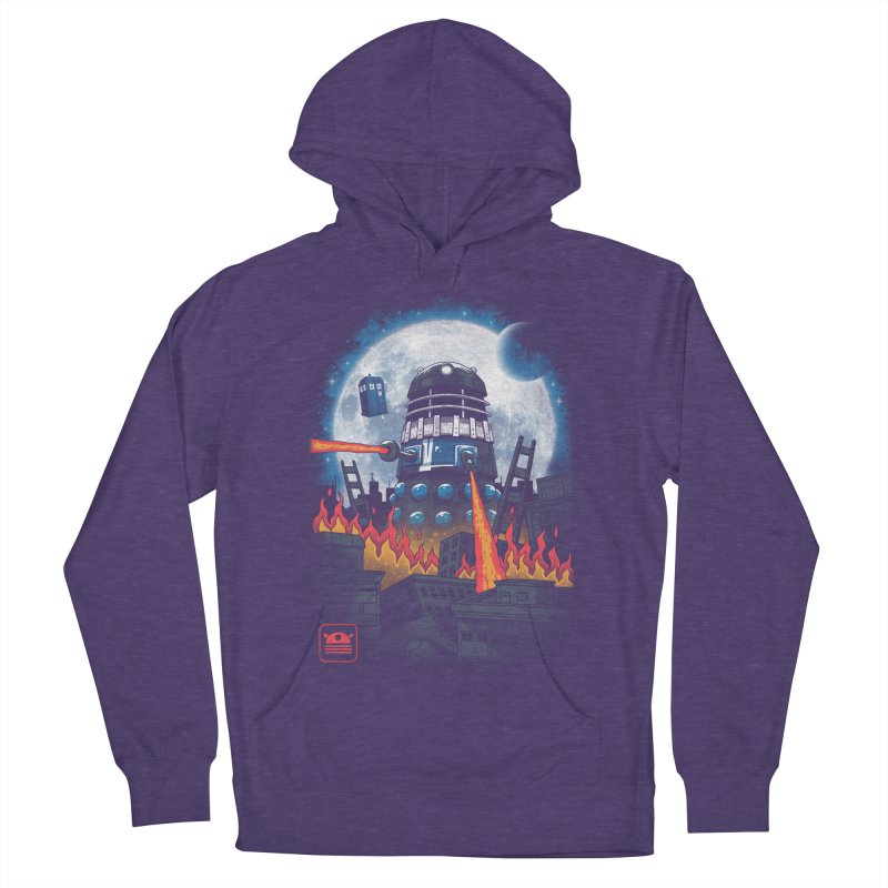 Dalek Kaiju Women's French Terry Pullover Hoody by vincenttrinidad's Artist Shop