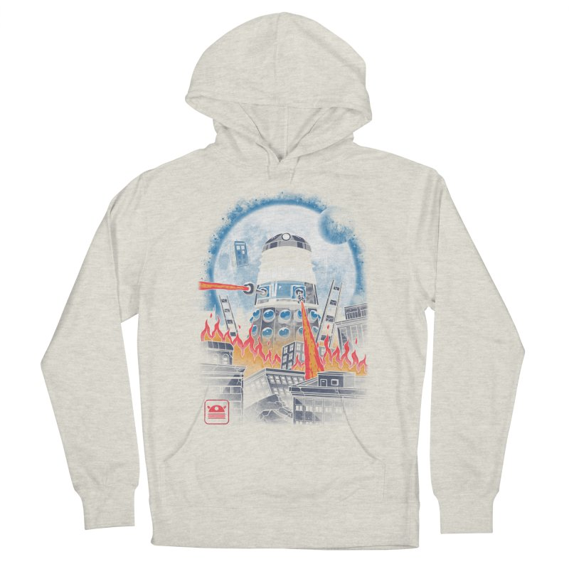Dalek Kaiju Men's French Terry Pullover Hoody by vincenttrinidad's Artist Shop