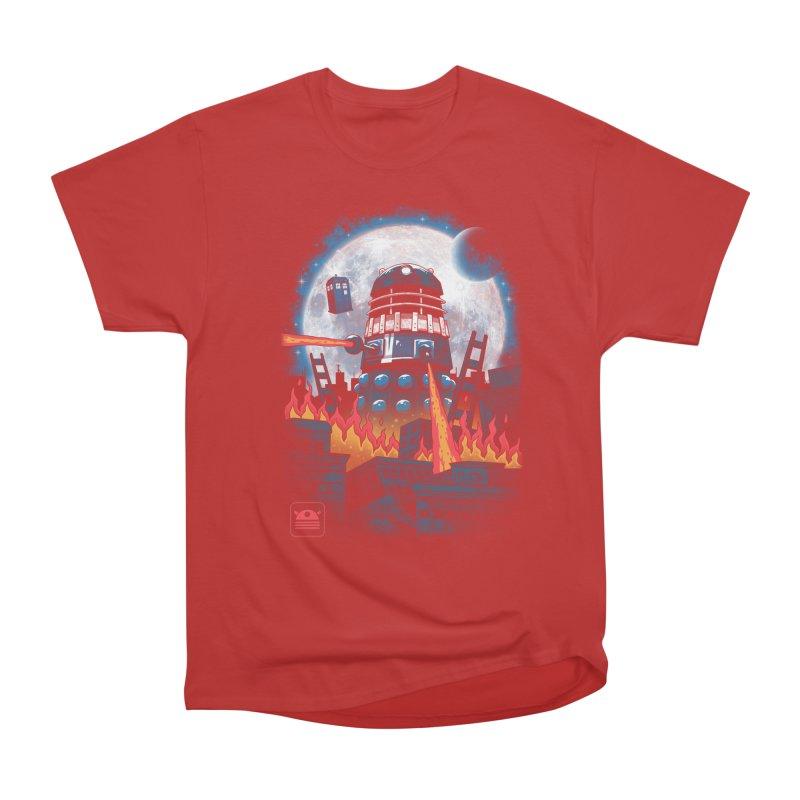 Dalek Kaiju Men's Heavyweight T-Shirt by vincenttrinidad's Artist Shop