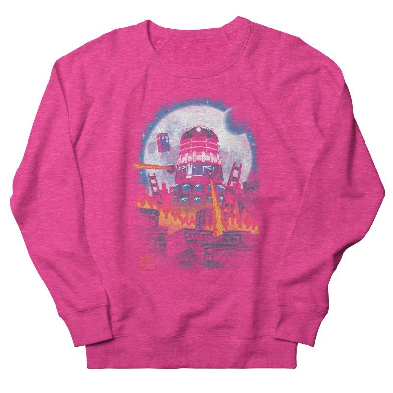 Dalek Kaiju Women's French Terry Sweatshirt by vincenttrinidad's Artist Shop