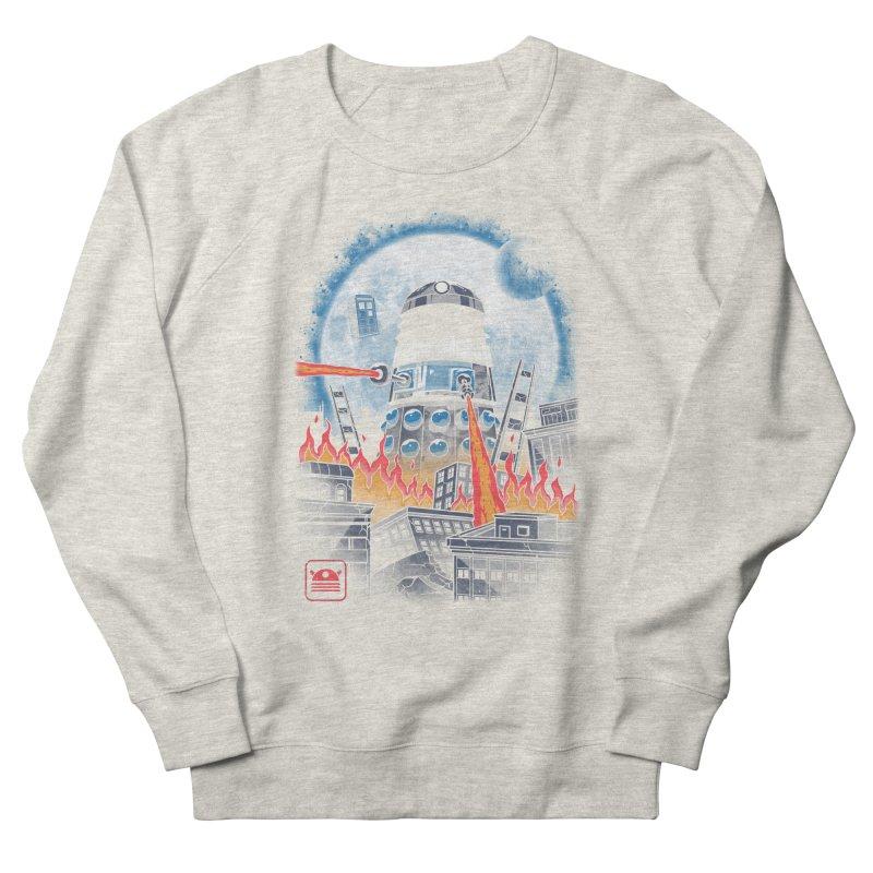 Dalek Kaiju Men's French Terry Sweatshirt by vincenttrinidad's Artist Shop