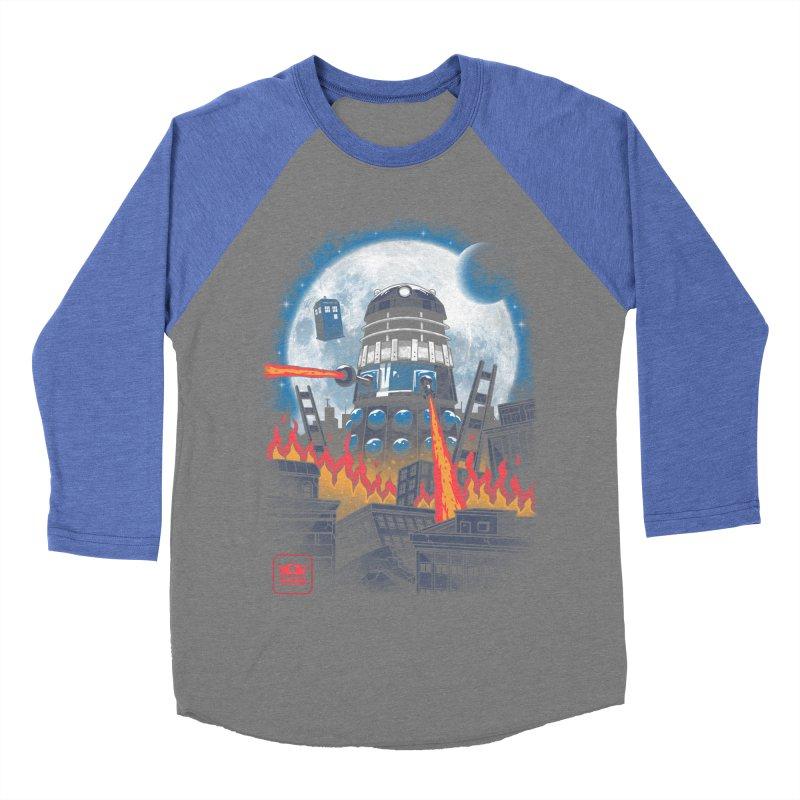 Dalek Kaiju Women's Baseball Triblend Longsleeve T-Shirt by vincenttrinidad's Artist Shop
