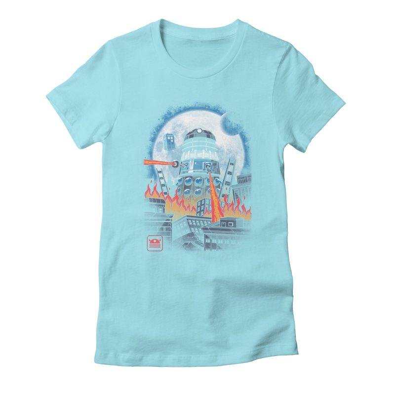 Dalek Kaiju Women's Fitted T-Shirt by vincenttrinidad's Artist Shop