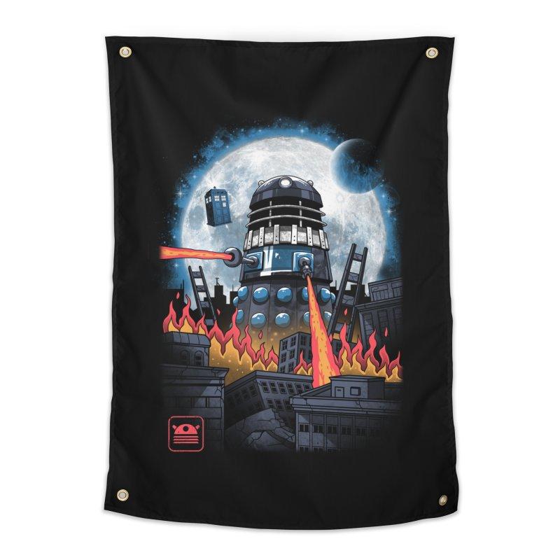 Dalek Kaiju Home Tapestry by vincenttrinidad's Artist Shop